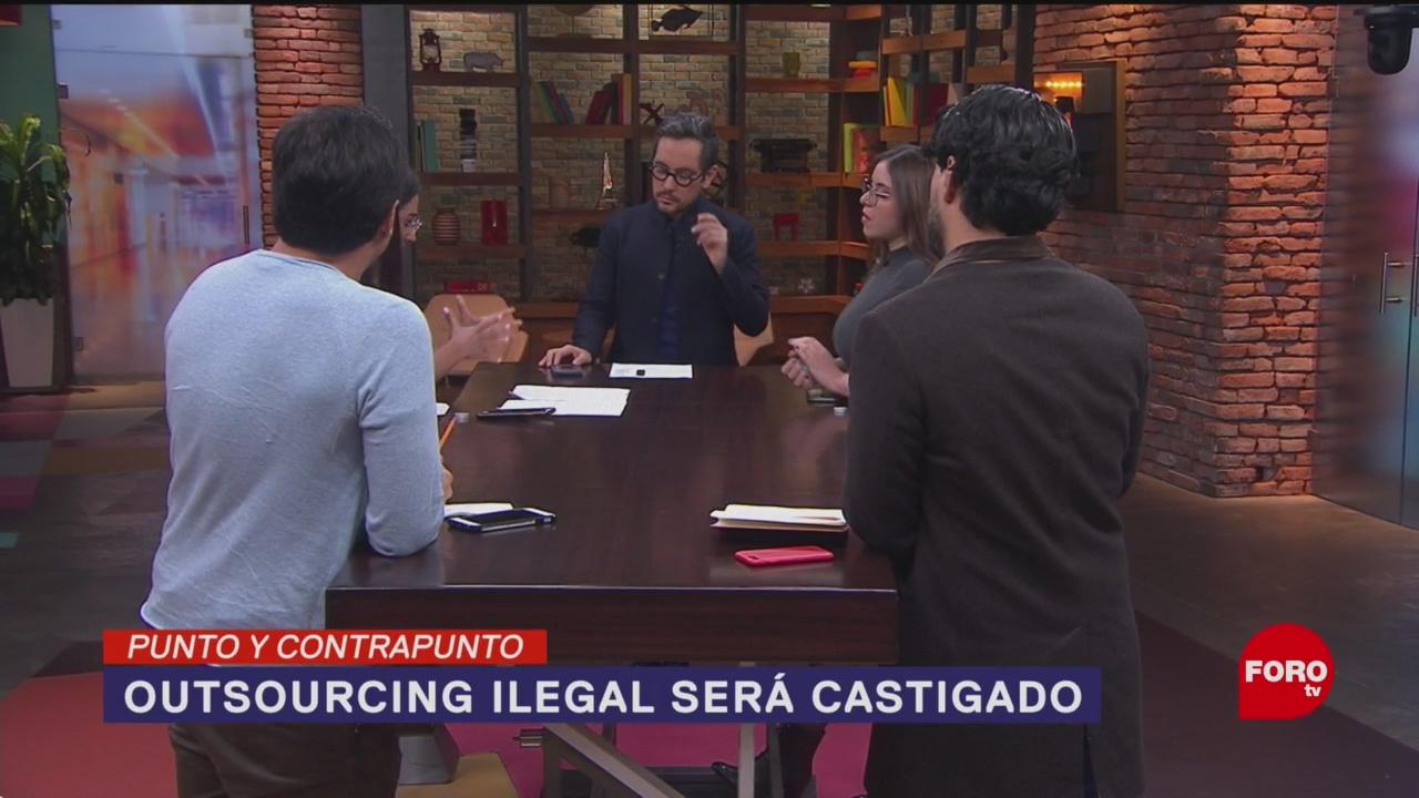 Foto: Castigo Outsourcing Ilegal México 16 Enero 2020