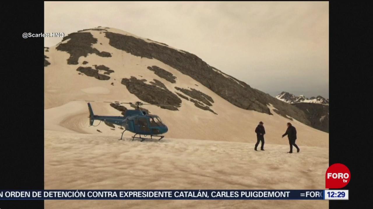 cenizas de incendios forestales en australia cubren glaciares de nueva zelanda