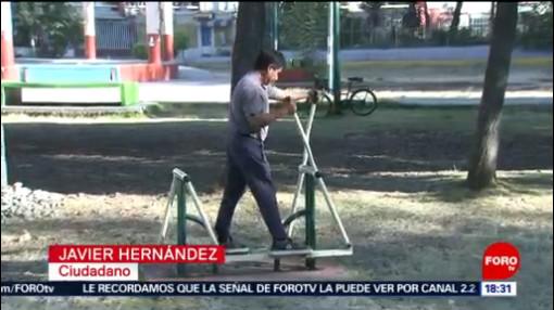 FOTO: 1 enero 2020, chilangos inician el ano ejercitando en parques