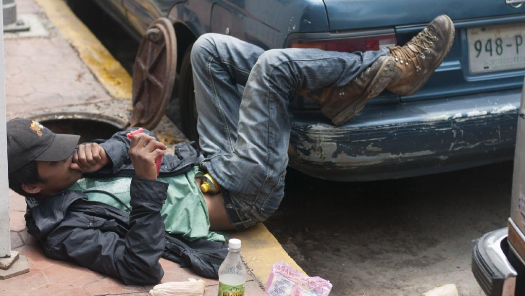 FOTO ¿Cómo afectan las drogas inhalables a la salud? (Cuartoscuro/Diego Simón Sánchez)