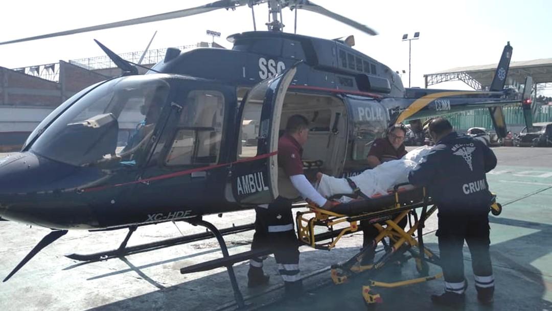 Foto: El paciente fue encontrado en la vía pública con un diagnóstico de traumatismo craneoencefálico severo