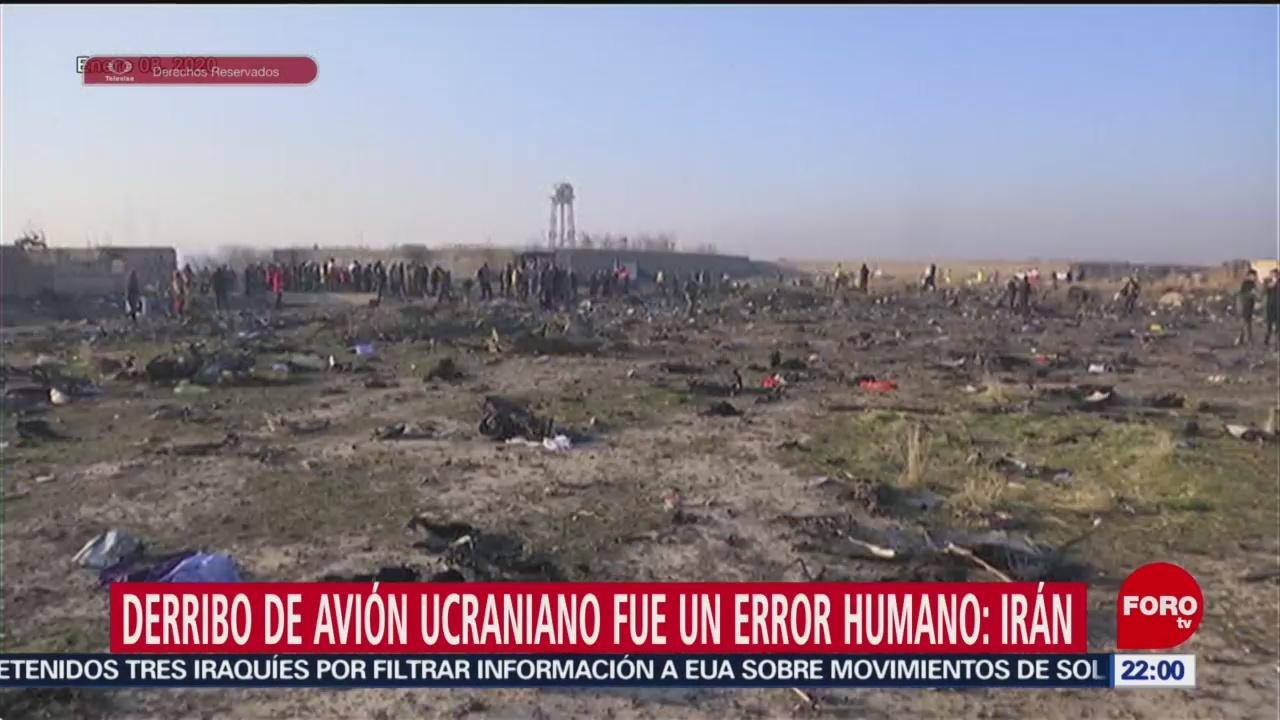 Foto: Derribo Avión Ucraniano Error Humano Irán 10 Enero 2020