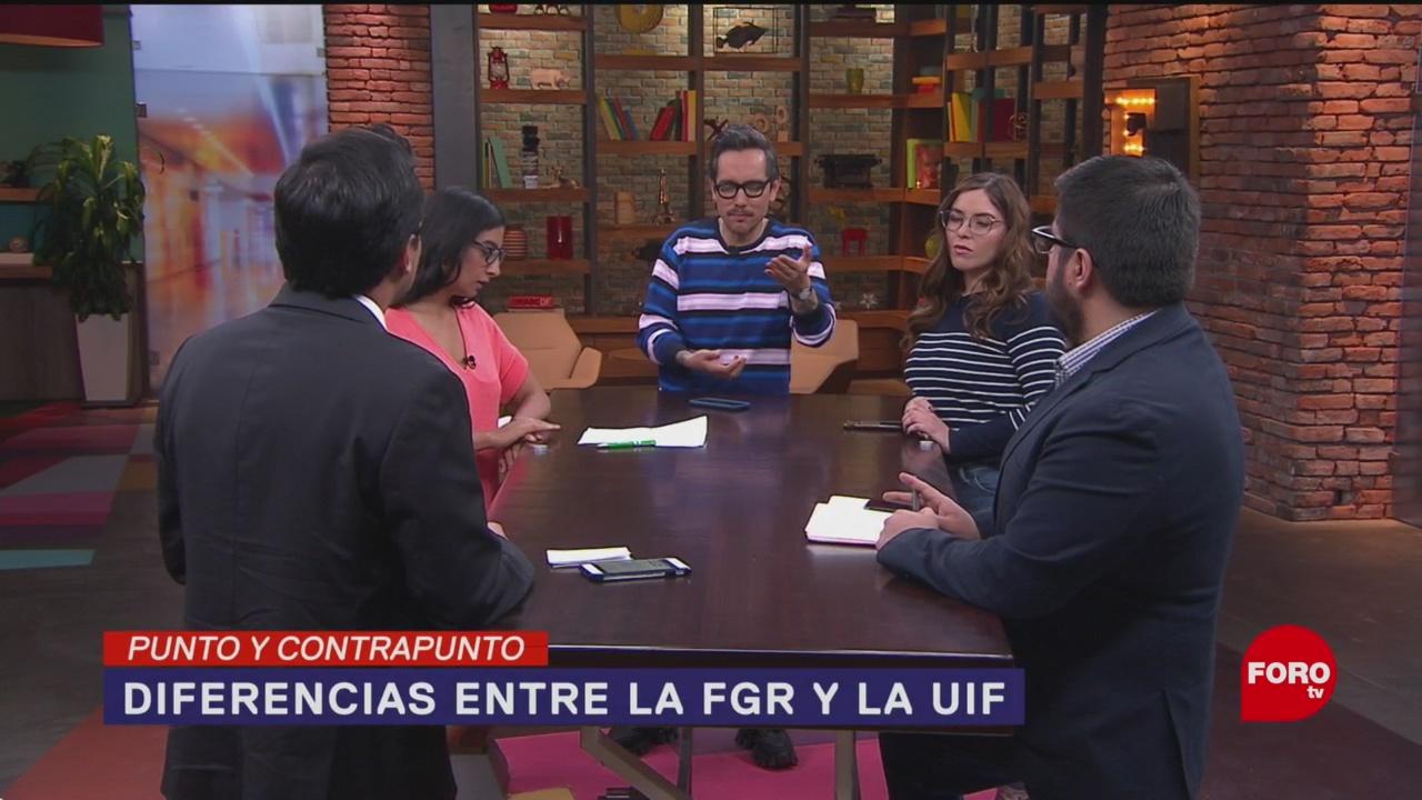 Foto: Fgr Uif Diferencia Gobierno AMLO 9 Enero 2020