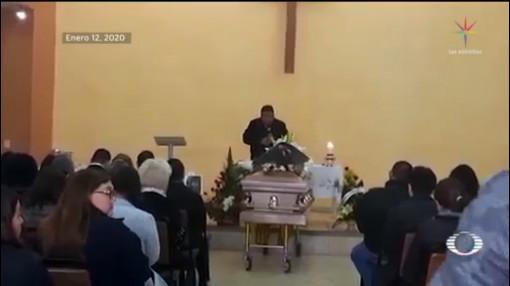 Foto: Funerales Maestra Niño Murieron Tiroteo Colegio Torreón 13 Enero 2020