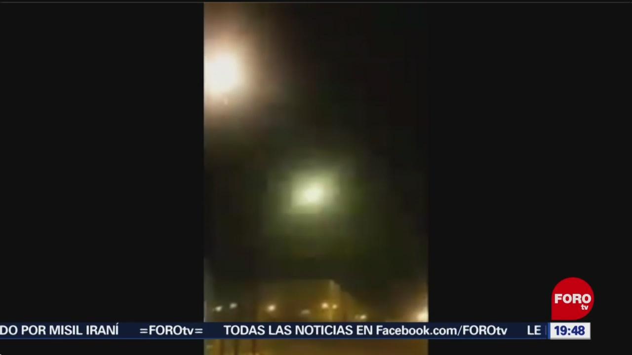Foto: Video Impacto Misil Contra Avión Ucraniano Irán 9 Enero 2020