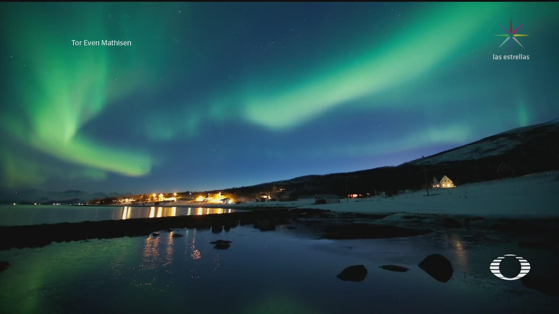 Foto: Dunas Nuevo Tipo Aurora Boreal 31 Enero 2020