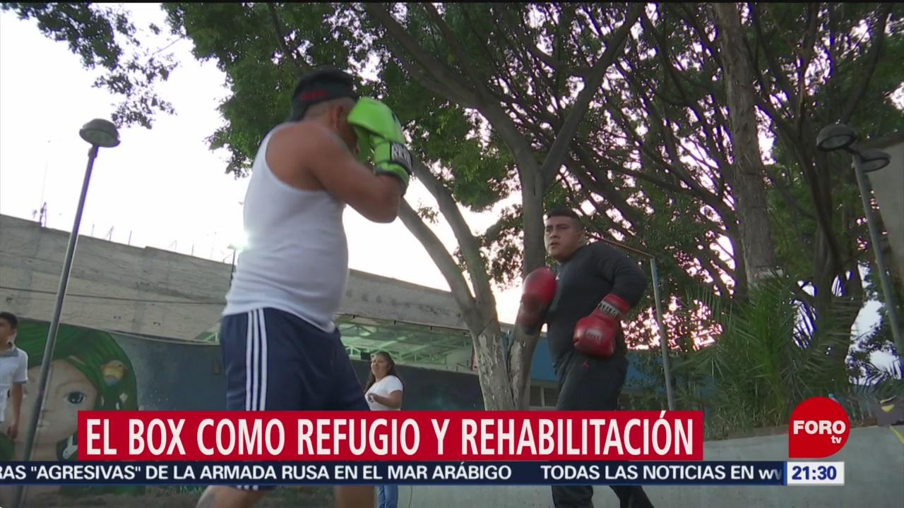 Foto: Box Refugio Rehabilitación Adicciones CDMX 10 Enero 2020