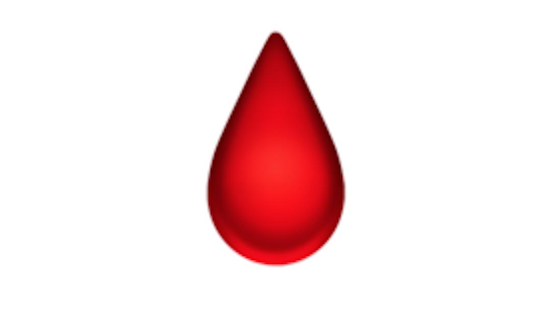 Foto Qué significa el emoji de la gota de sangre en WhatsApp 16 enero 2020