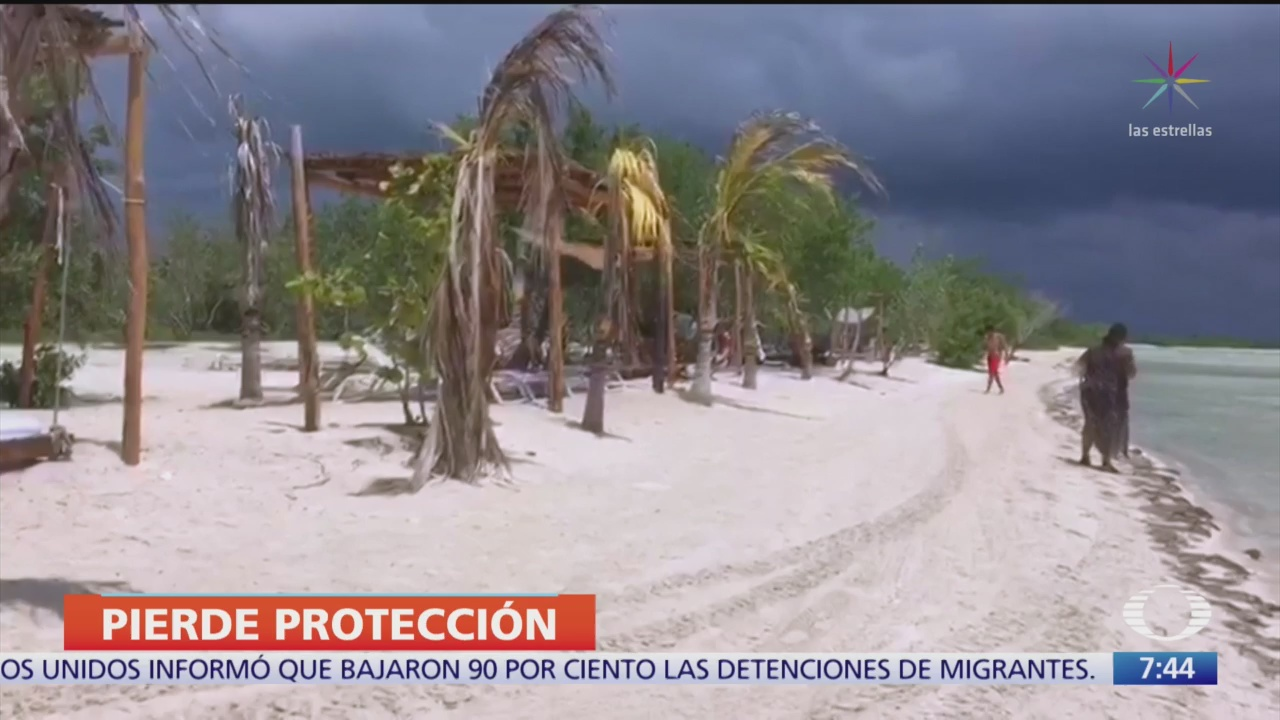 empresa hotelera recupera terrenos de holbox que serian area protegida