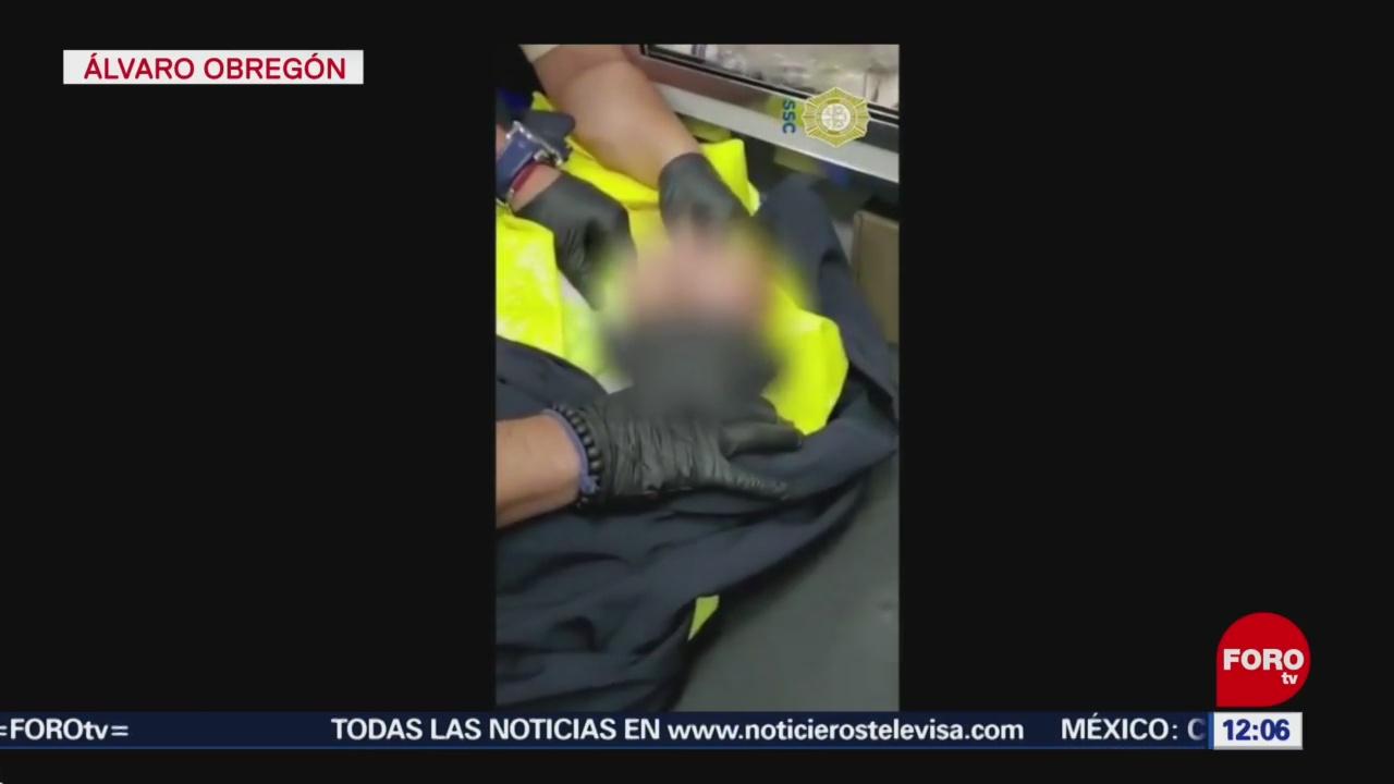 encuentran a bebe robado durante ataque a familia en cdmx