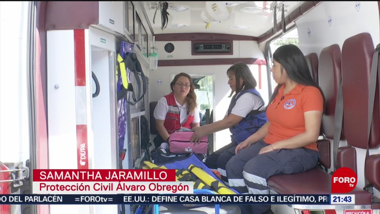 Foto: Escuadrón Femenil De Protección Civil Mujeres 15 Enero 2020