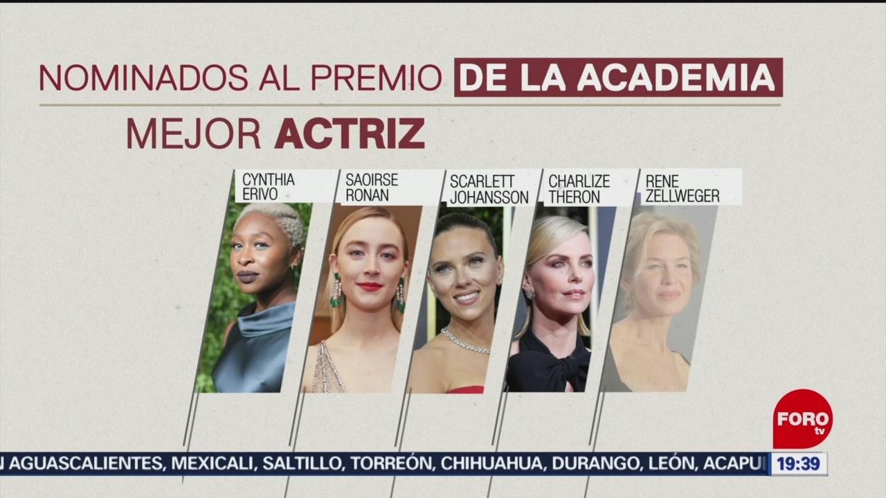 Foto: Nominados Premios Oscar 2020 Nominaciones 13 Enero 2020