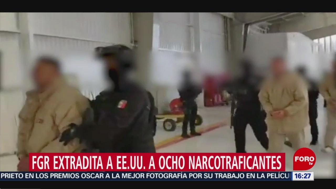 FOTO: fgr extradita a estados unidos a 8 narcotraficantes mexicanos