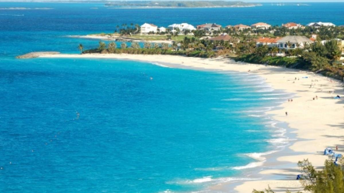 Foto: Imagen panorámica de una isla de las Bahamas. Getty Images