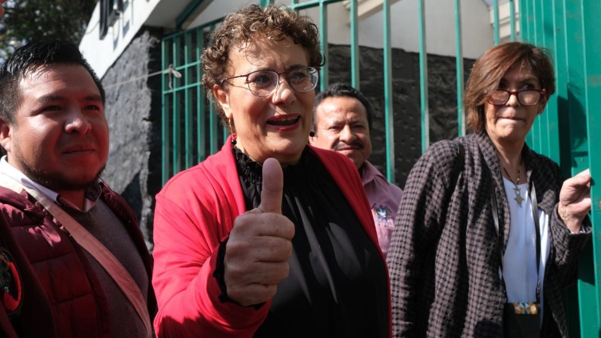 Foto: Bertha Luján, exconsejera nacional de Morena. Cuartoscuro
