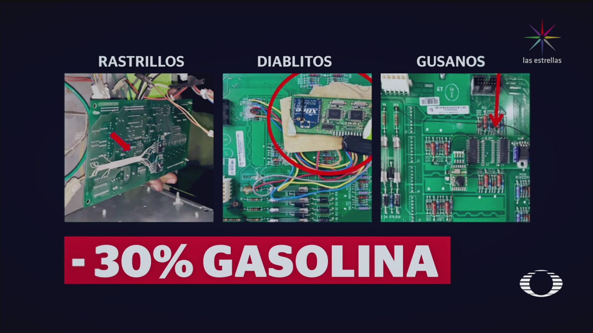 Foto: Gusano Gasolina Nuevo Modo Robar Gasolina Establecimientos 29 Enero 2020