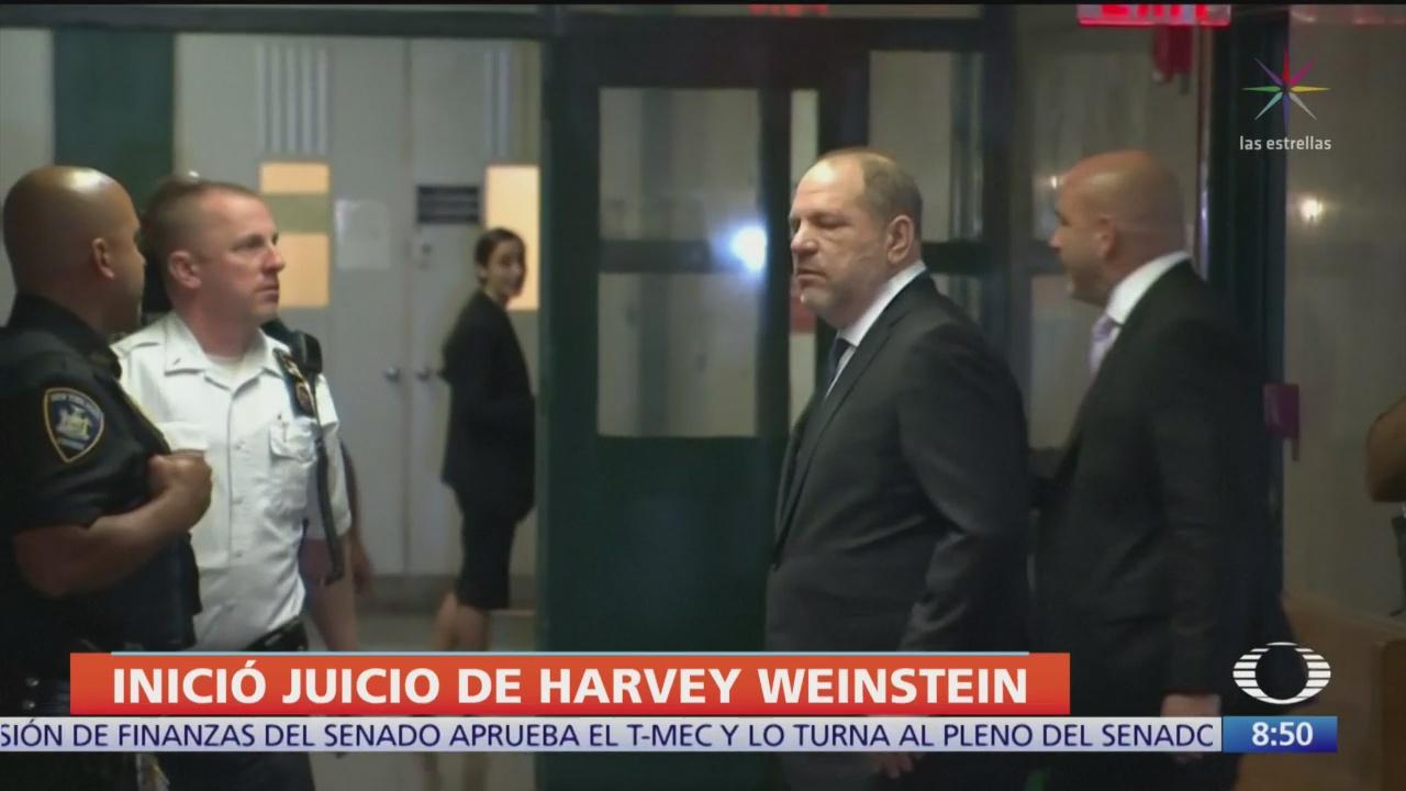 harvey weinstein enfrenta juicio en la corte suprema de nueva york