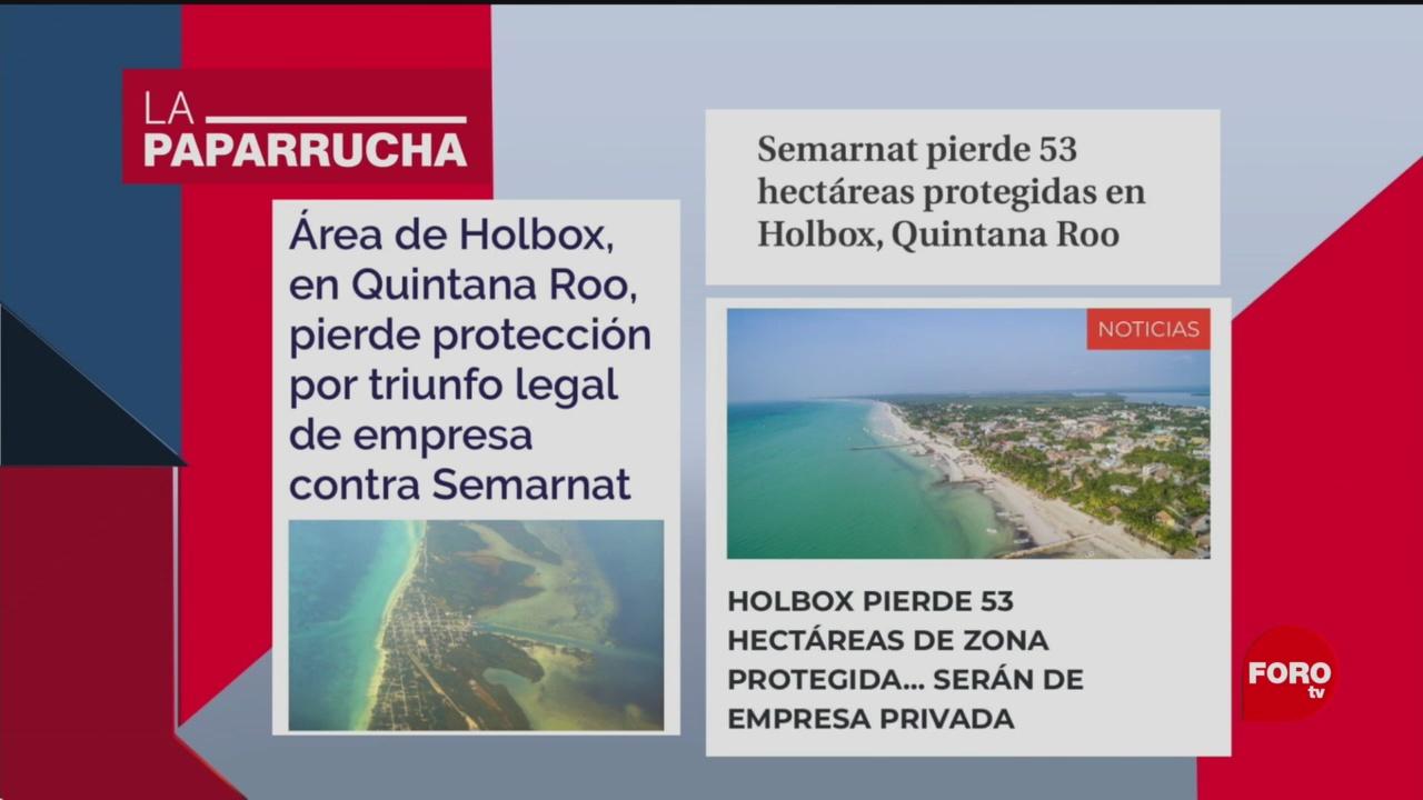 Foto: Holbox Pierde Carácter Área Natural Protegida Noticias Falsas 14 Enero 2020