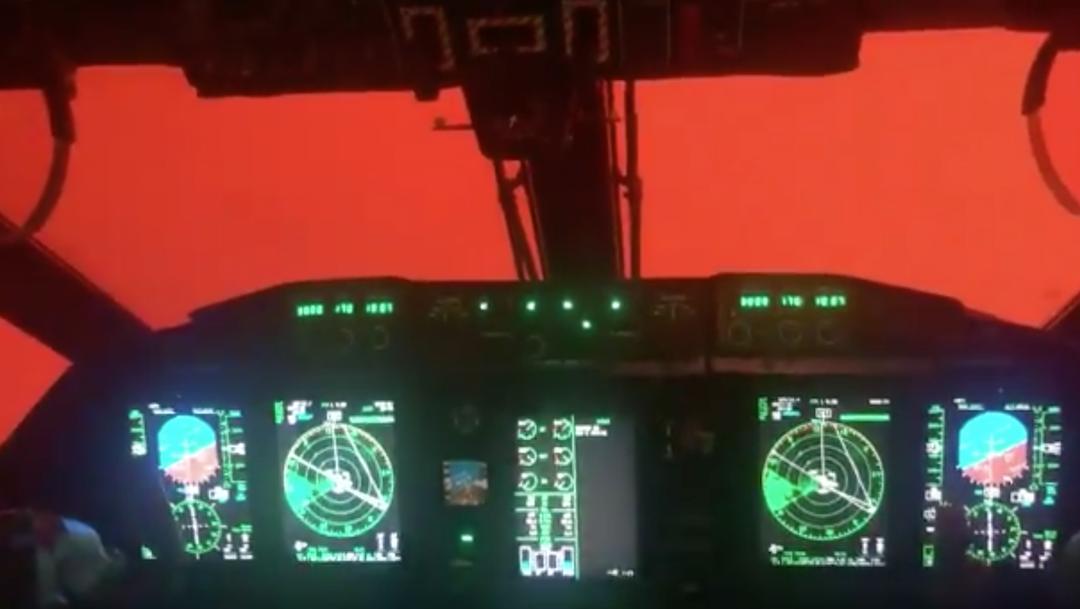 Foto Los incendios en Australia, vistos desde una cabina de avión de rescate 8 enero 2020