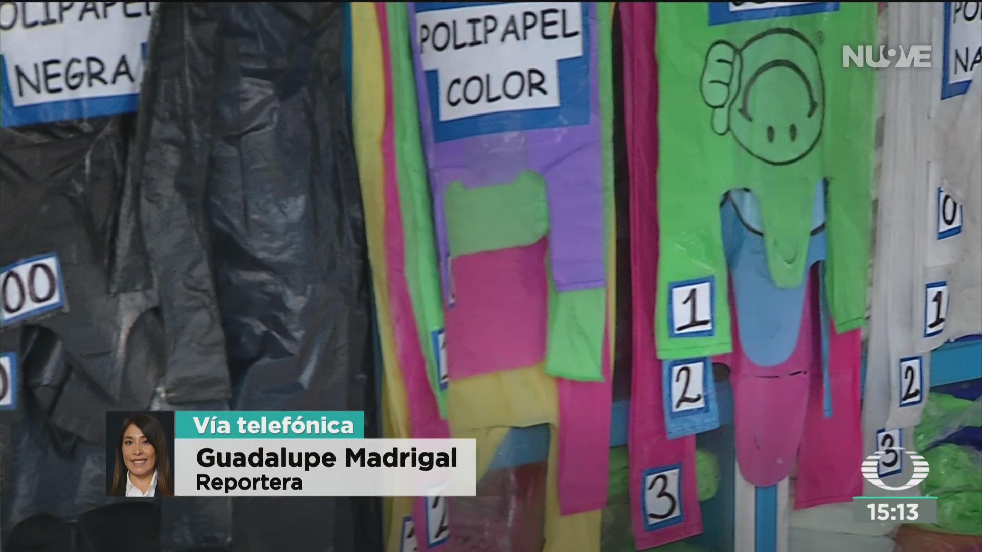 FOTO: industrailes de plastico piden que se publique norma de bolsas compostables