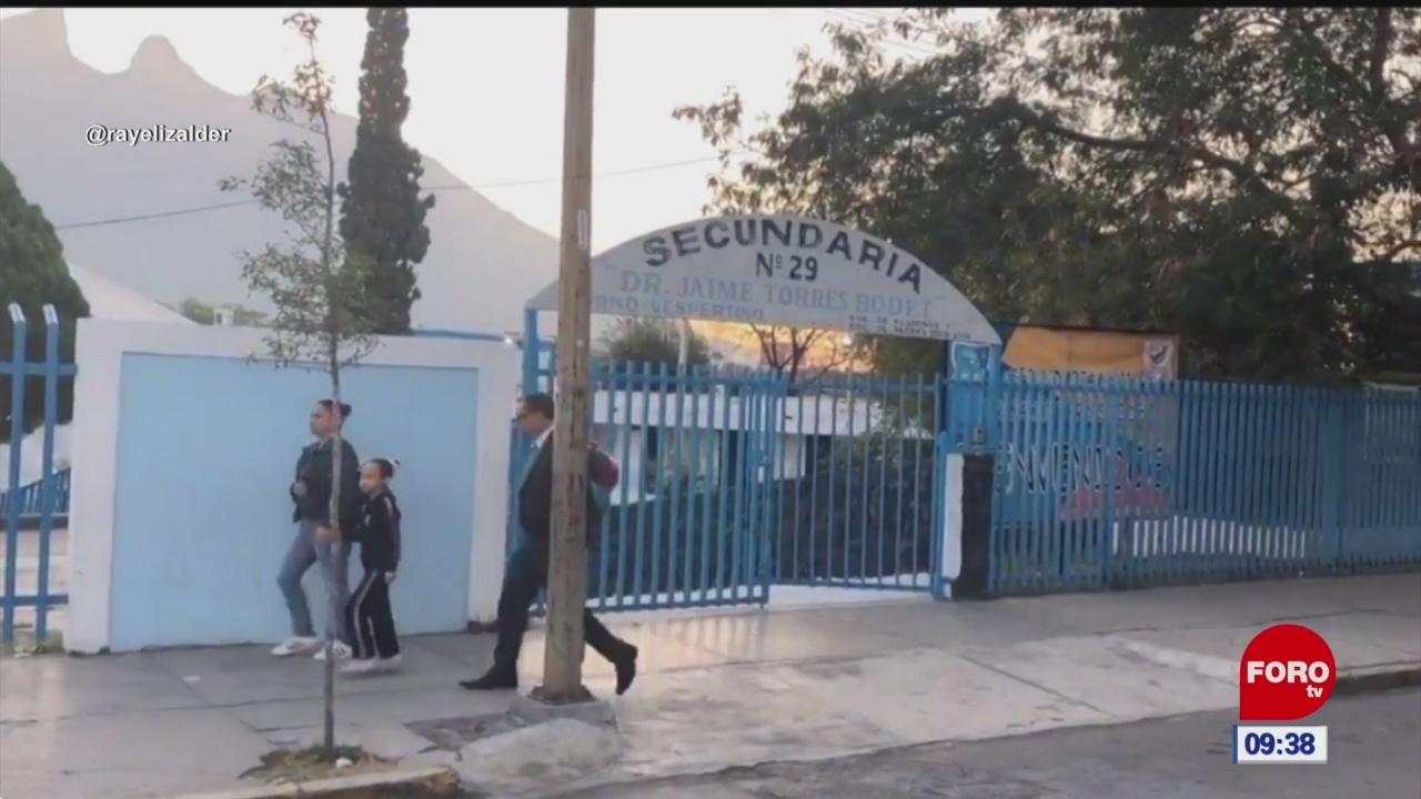 investigan amenaza de tiroteo en escuela secundaria de nuevo leon