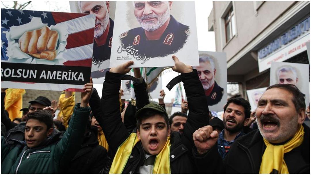 Foto: Irán ofrece recompensa por Donald Trump, 5 de enero de 2020 (EFE)