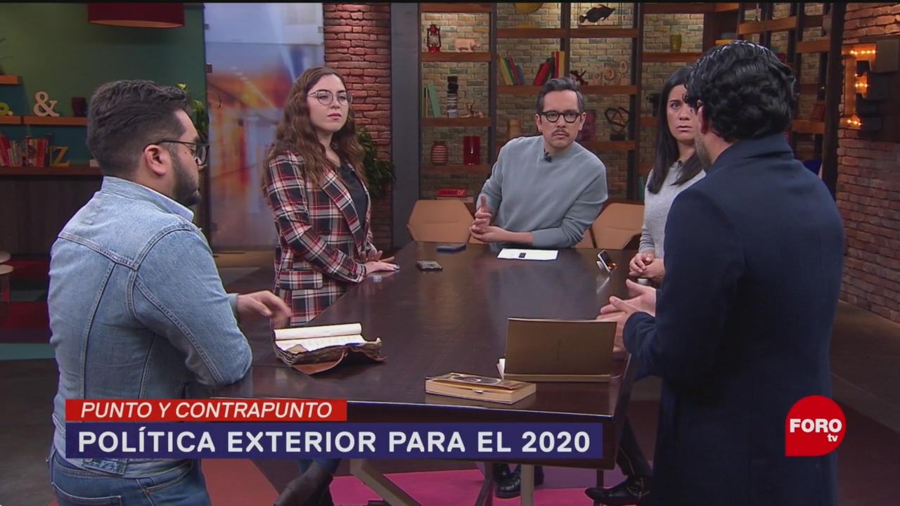 Foto: Lineamientos Política Exterior México 9 Enero 2020
