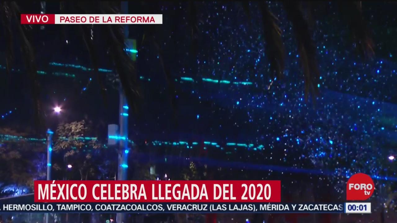 FOTO: 31 diciembre 2019, mexico le da la bienvenida al