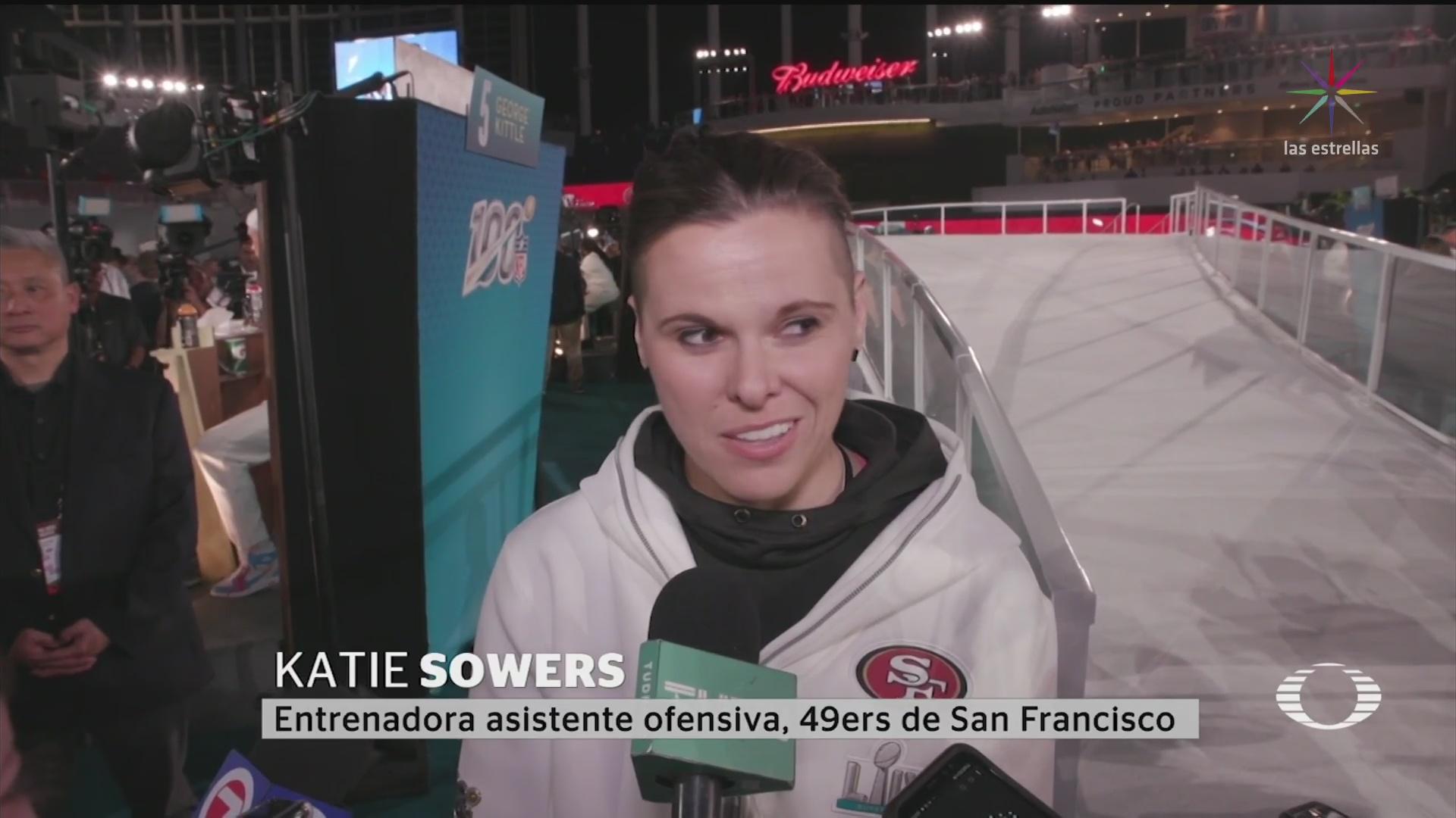 Foto: Mujer Entrenadora Historia Super Bowl 2020 31 Enero 2020
