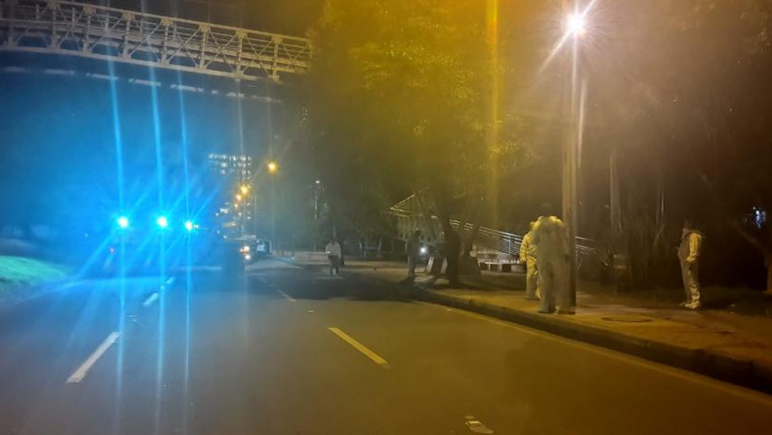 FOTO Peatón mata a tres hombres que lo querían asaltar (City TV)