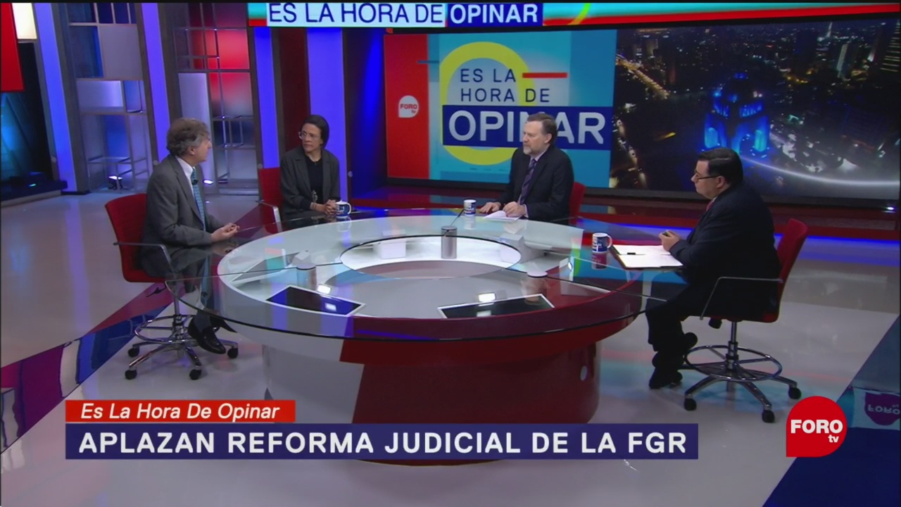 Foto: Reforma Judicial Resuelve Impunidad México 16 Enero 2020