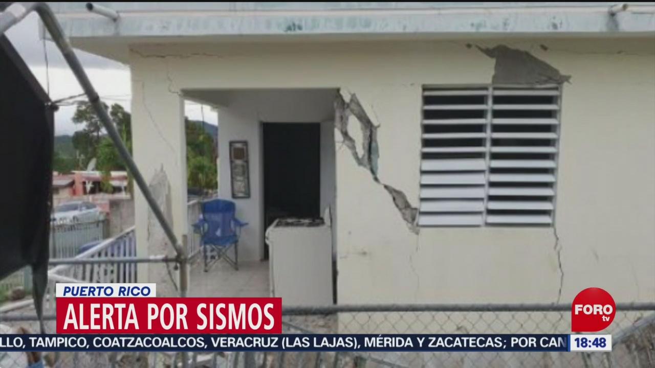 puerto rico en alerta por la ola de sismos