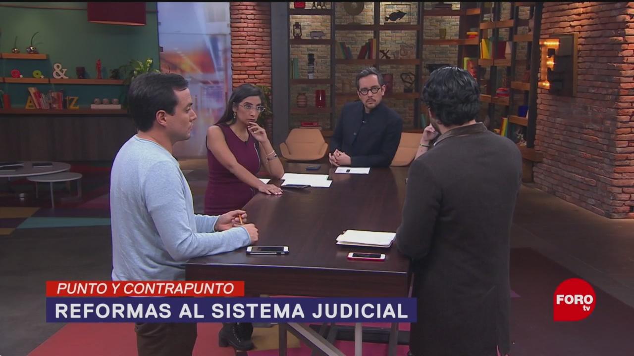 Foto: Iniciativas Reformar Sistema Justicia Qué Pasó 16 Enero 2020