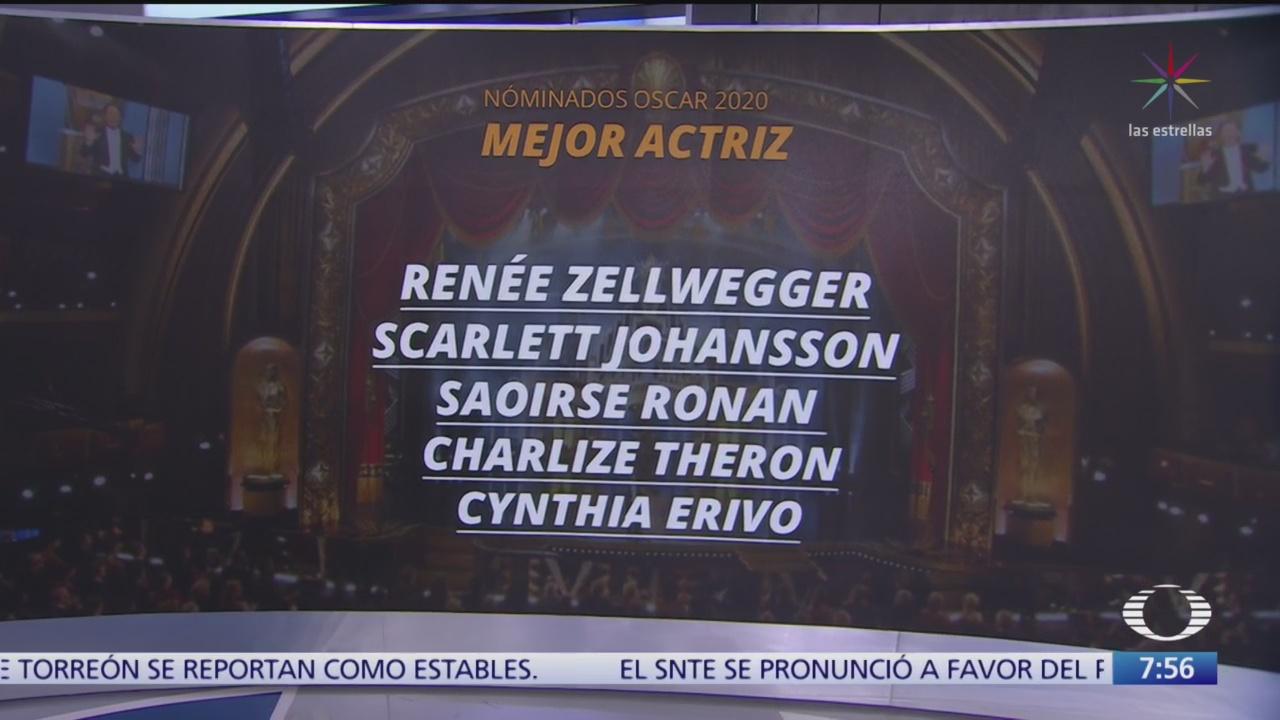quienes son los nominados a los premios oscar