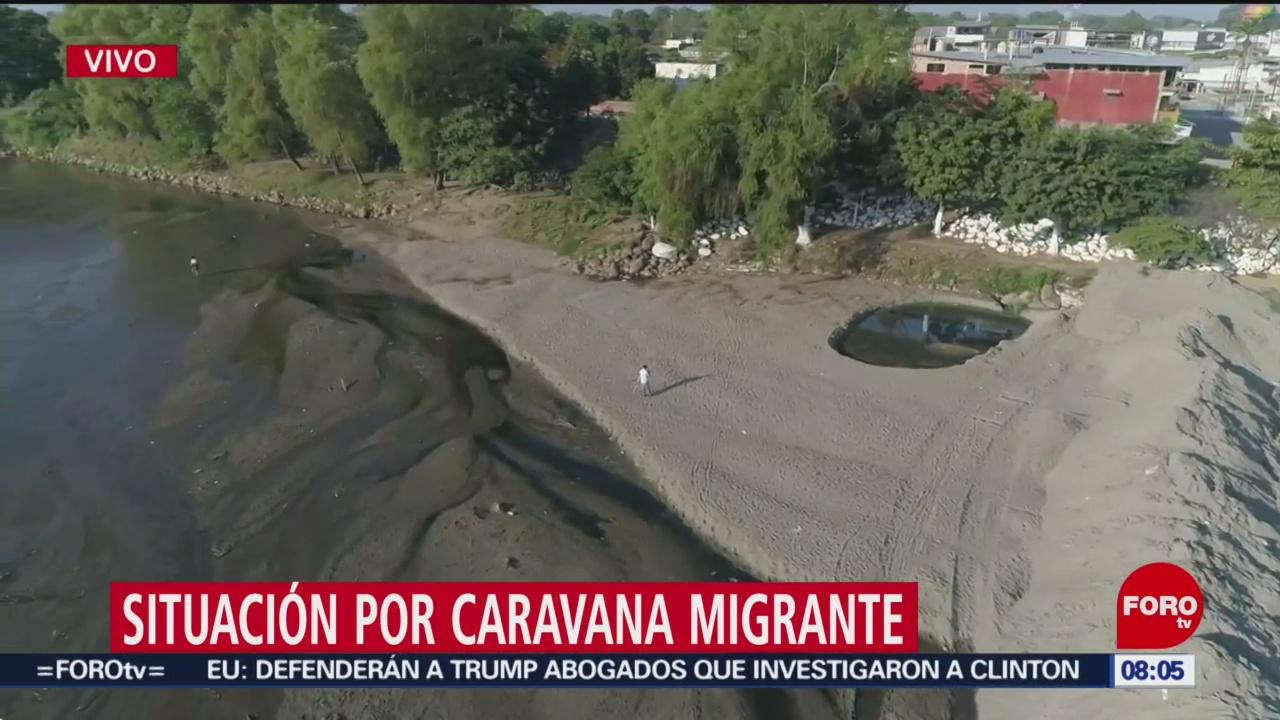 FOTO: 19 enero 2020, regresa la calma en la frontera de chiapas con guatemala
