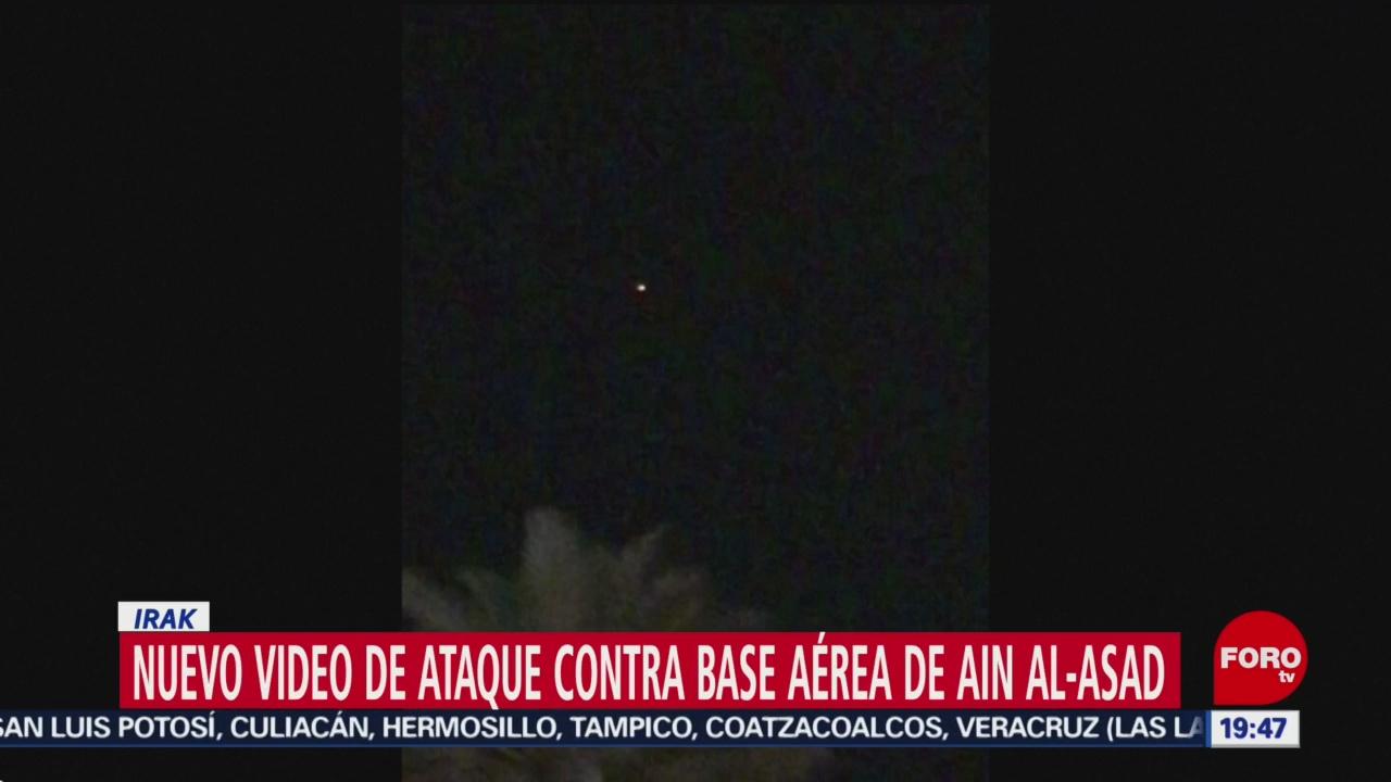 Foto: Nuevo Video Ataques Base Aérea Eeuu Irak 10 Enero 2020