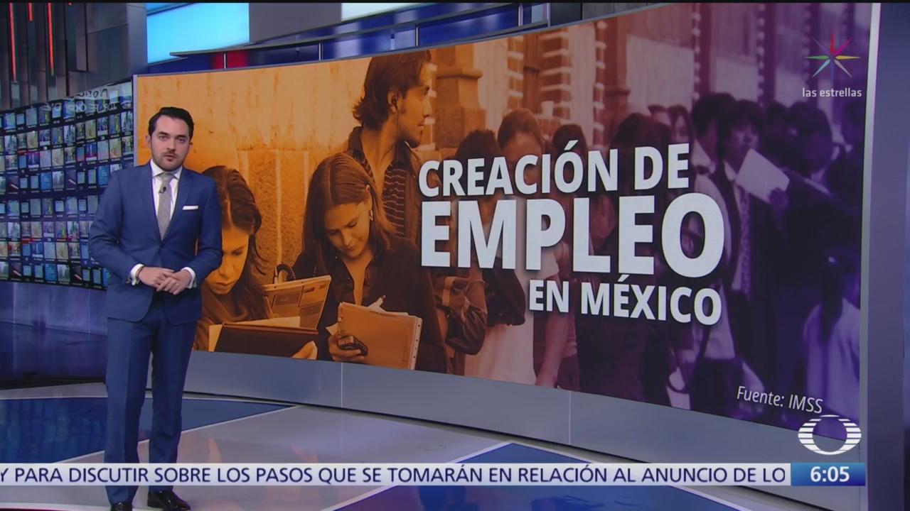 se crearon 342 mil 77 empleos formales en 2019 revela imss
