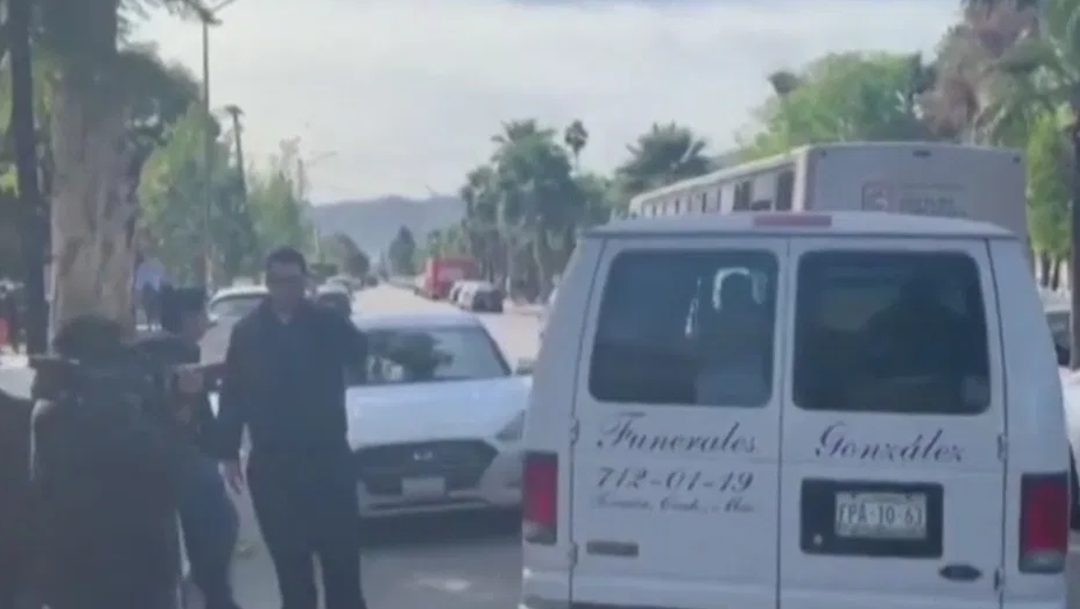 FOTO: Sepultan a maestra víctima de tiroteo en el Colegio Cervantes, el 12 de enero de 2020