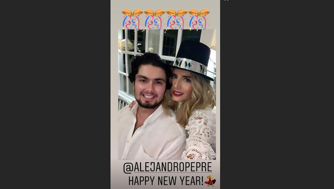 Foto Tania Ruiz Alejandro Peña Nieto Instagram 2020