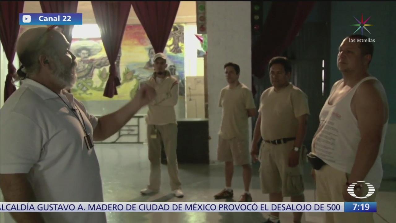 teatro penitenciario labor para educar a reos