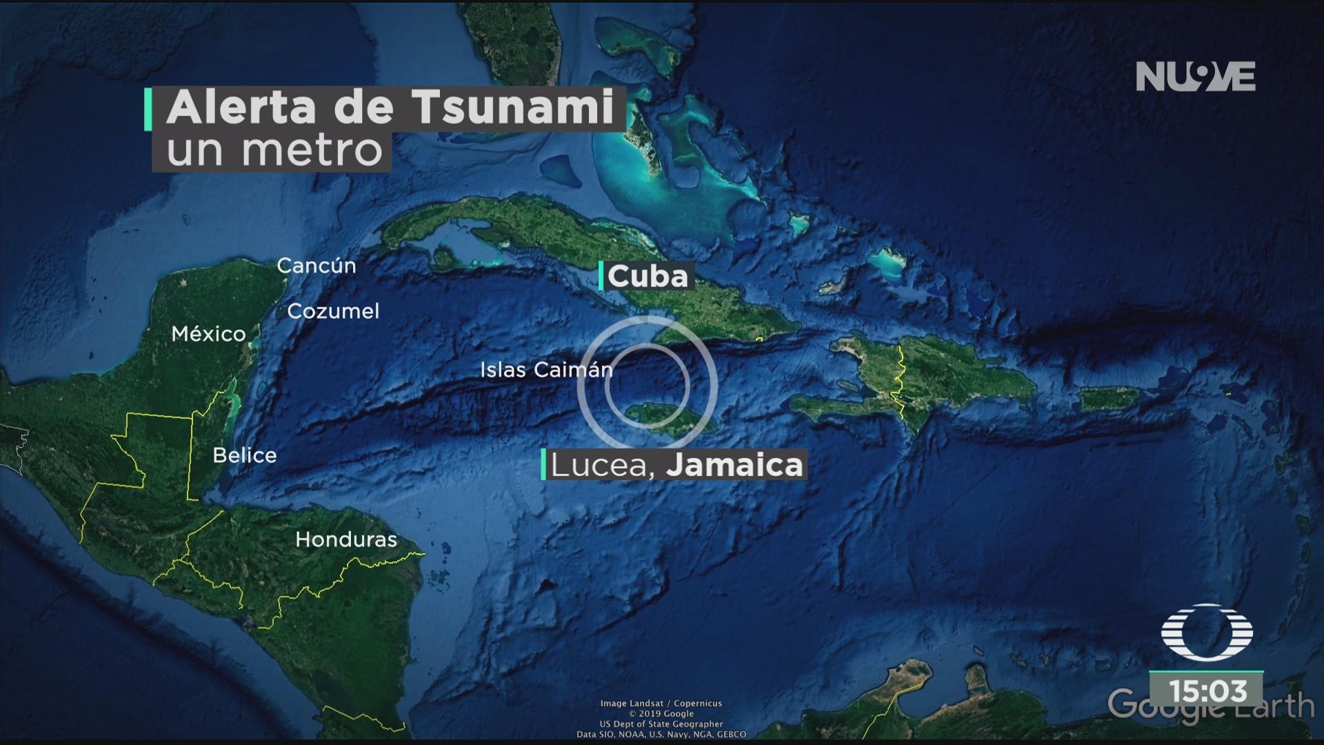 FOTO: terremoto en el caribe activa alerta de tsunami