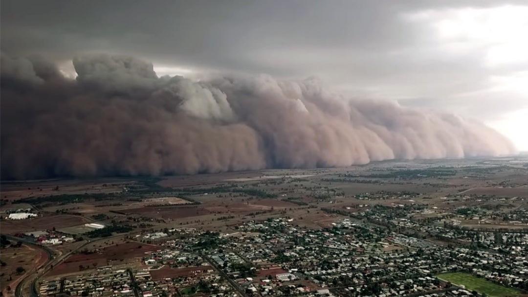 Australia sigue en crisis: Tormentas de polvo cubren el sureste