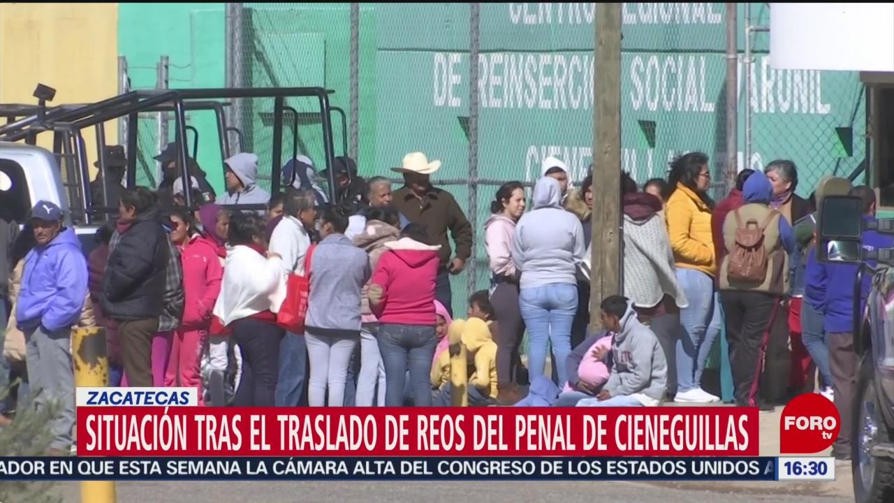 FOTO: trasladan a reos del penal de cieneguillas zacatecas