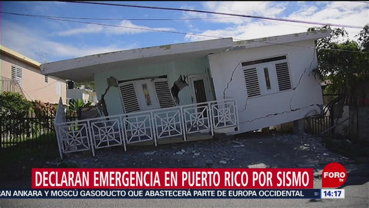 FOTO: trump aprueba declaratoria de emergencia tras sismo en puerto rico