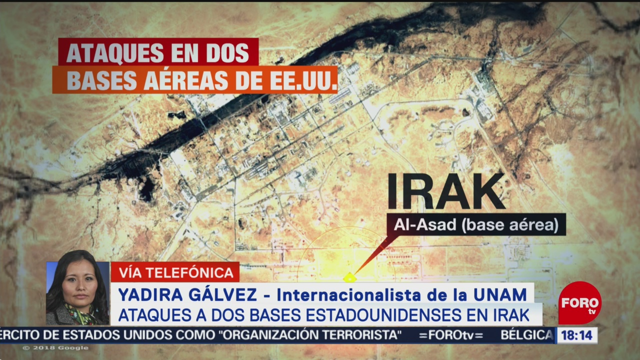 FOTO: trump debe tomar una decision estrategica tras ataque en irak yadira galvez