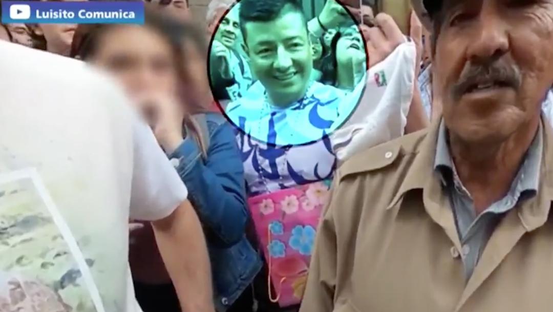 Video Detectan a hombre grabando a mujeres debajo de la falda en video de Luisito Comunica 20 febrero 2020
