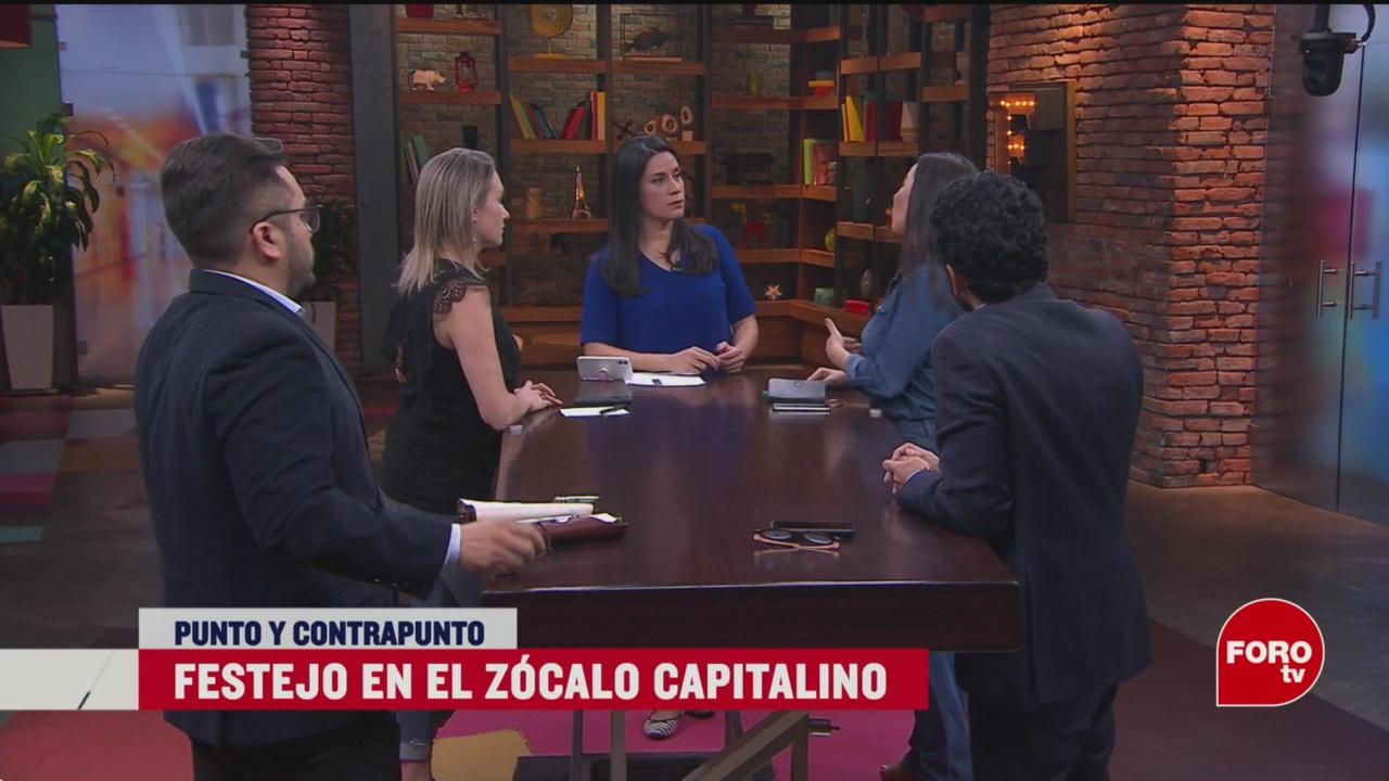 Foto: Amlo Lleva Día Ejército Zócalo CDMX 19 febrero 2020