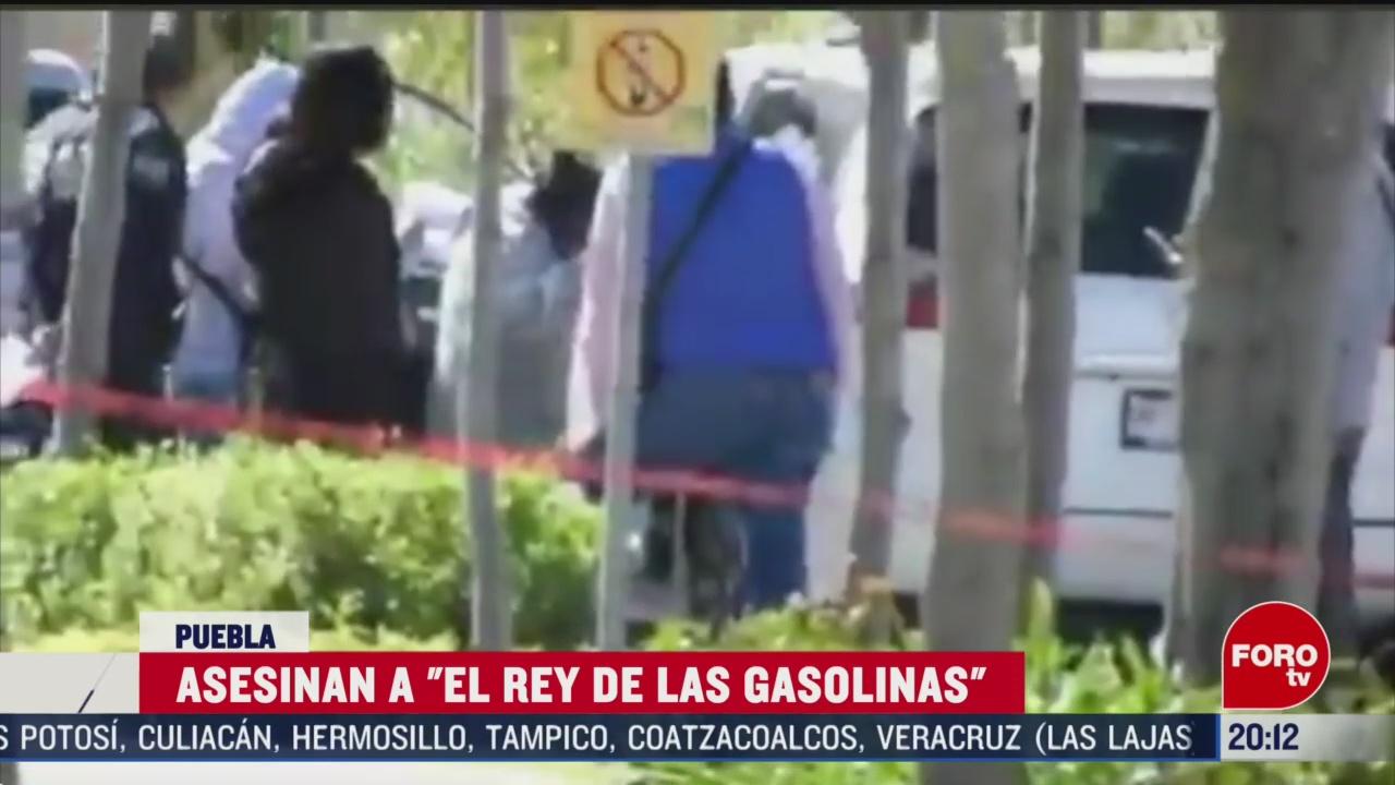 Foto: Asesinan El Rey De Las Gasolinas Puebla 21 Febrero 2020