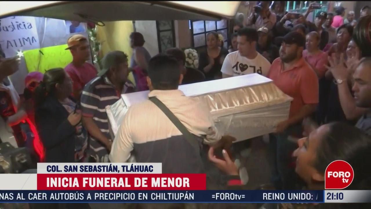 Foto: Video Funeral Niña Fátima 17 Febrero 2020