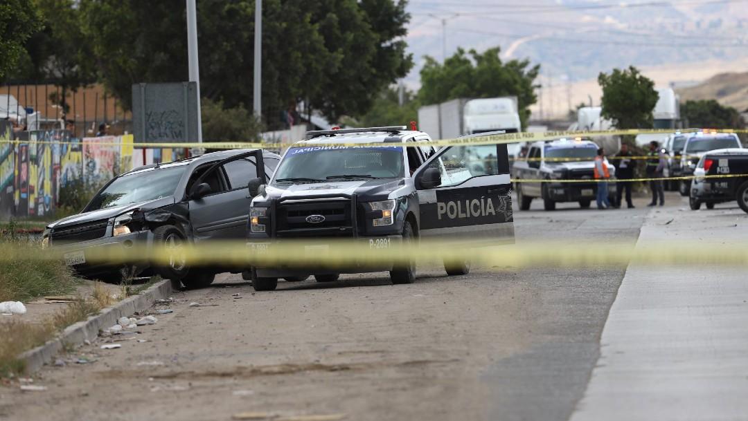 FOTO: Matan a hombre dentro de camioneta en la Benito Juárez, CDMX